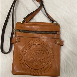 Barely used Patricia Nash leather bag